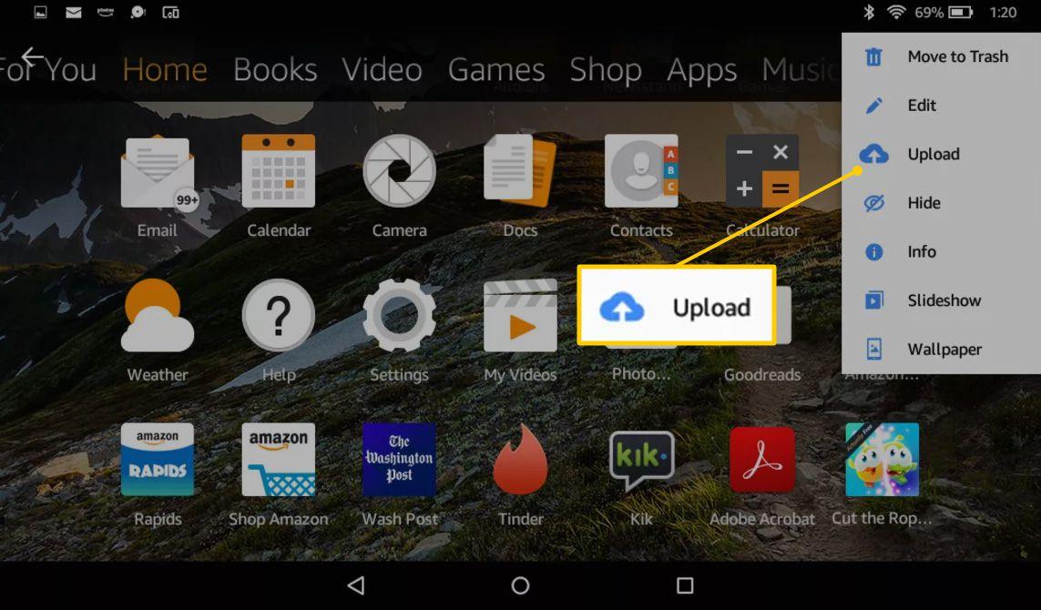How to Take a Kindle Fire Screenshot