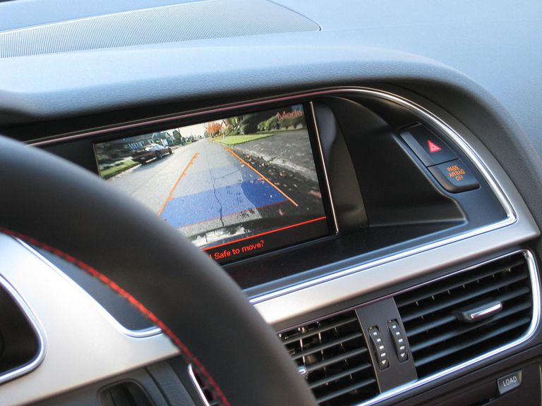 backup camera display