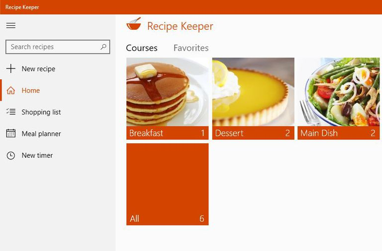 The best windows 10 apps for beginners a picture of the recipe keeper app for windows forumfinder Gallery