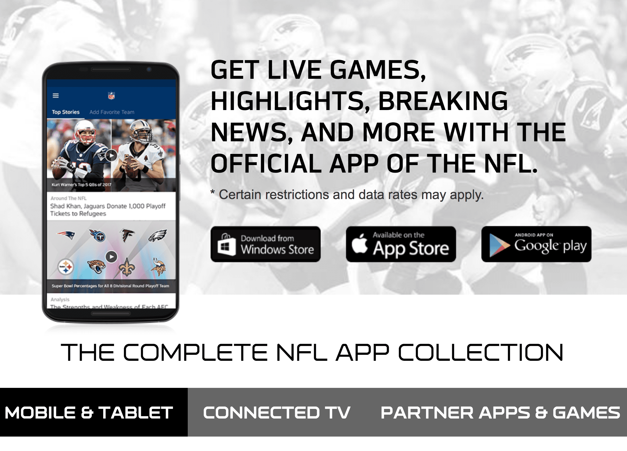 NFL App Collection