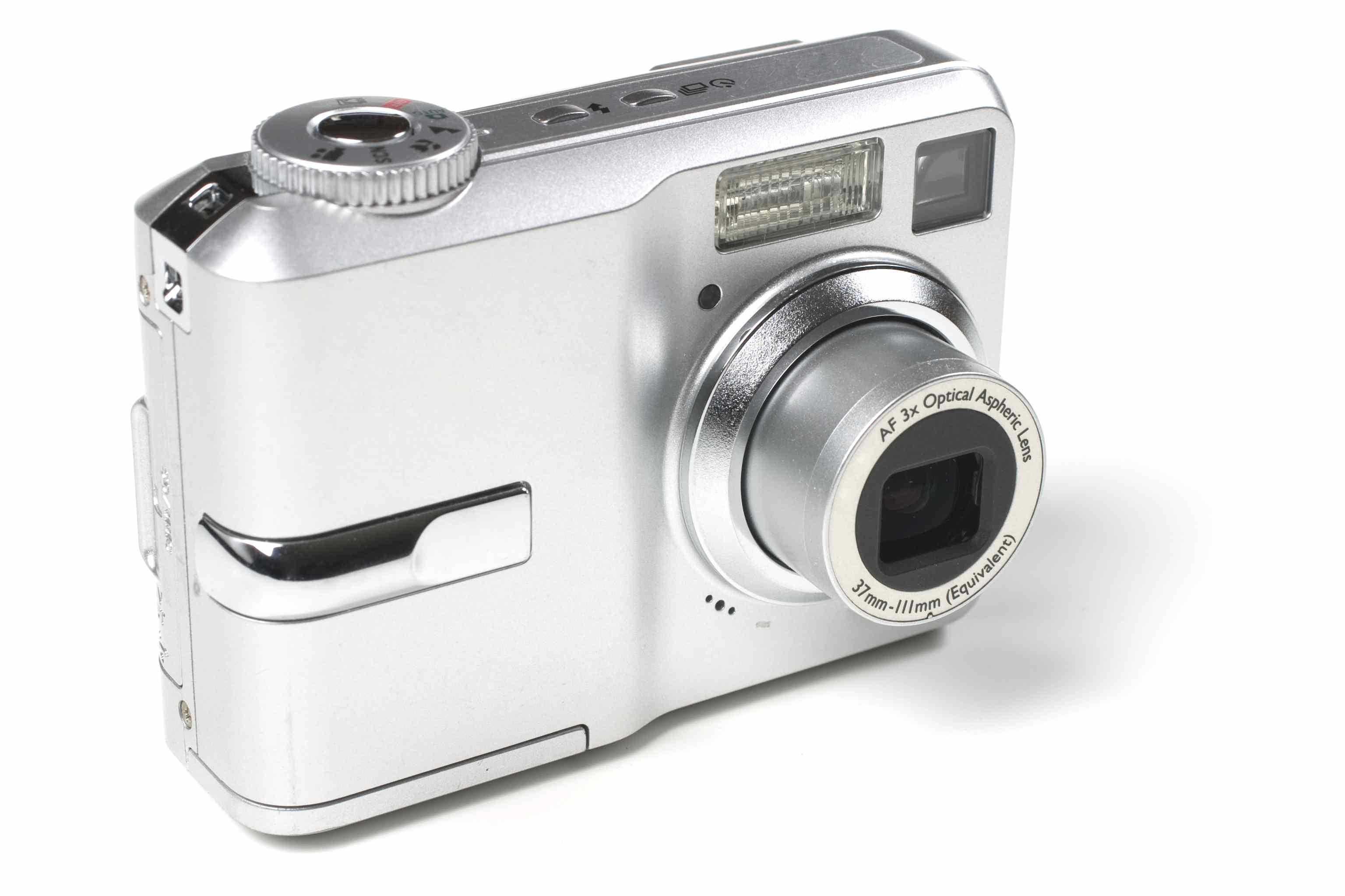 A point and shoot camera.