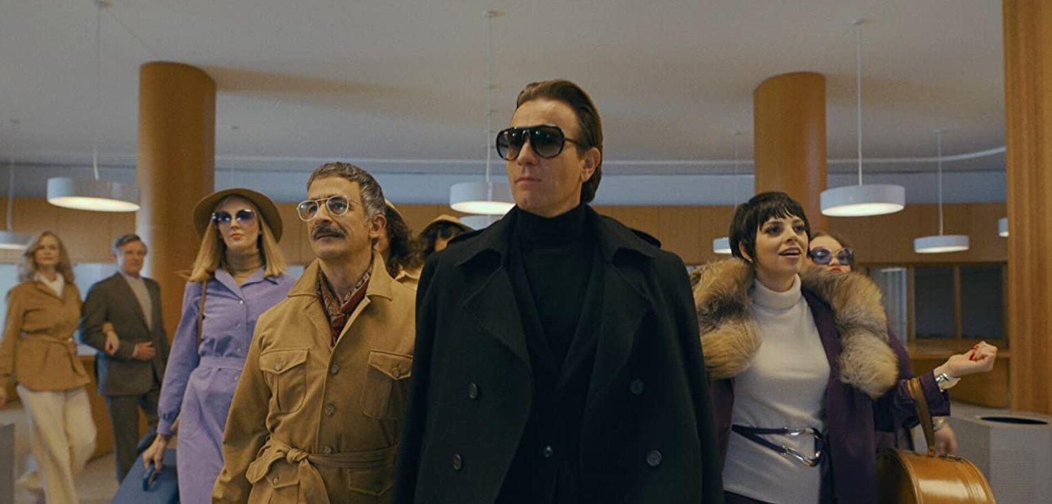 Ewan McGregor, David Pittu, and Krysta Rodriguez in 'Halston'