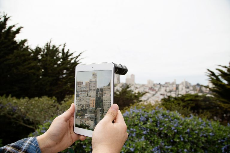 How to improve camera on iPad