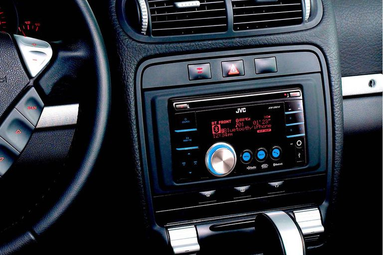 JVC car radio