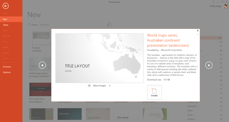 Microsofts best presentation templates for powerpoint free country and continent map series templates or printables for powerpoint toneelgroepblik Gallery