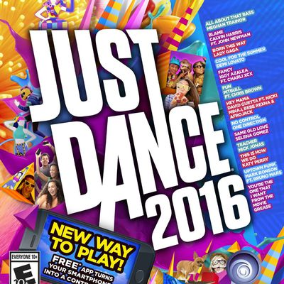 Just Dance 2016 box