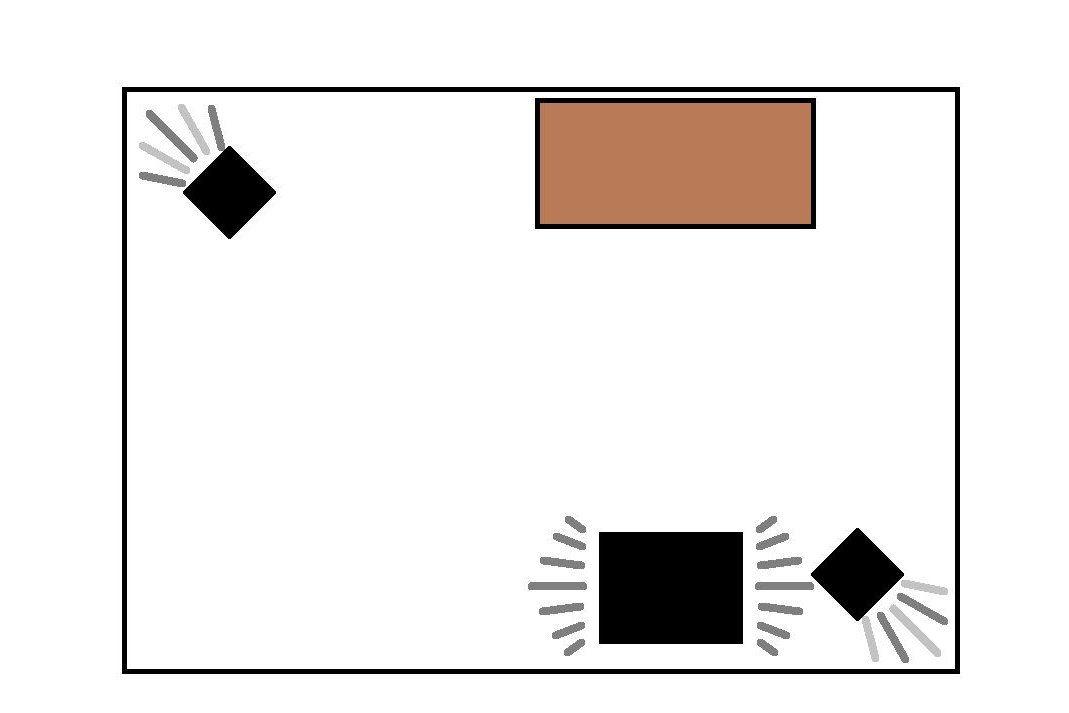 Sound check room diagram