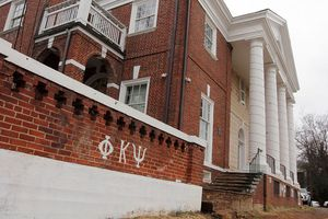 Phi Kappa Psi brick fraternity house