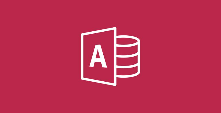 The Microsoft Access logo