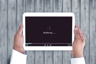 Slow internet, video buffering