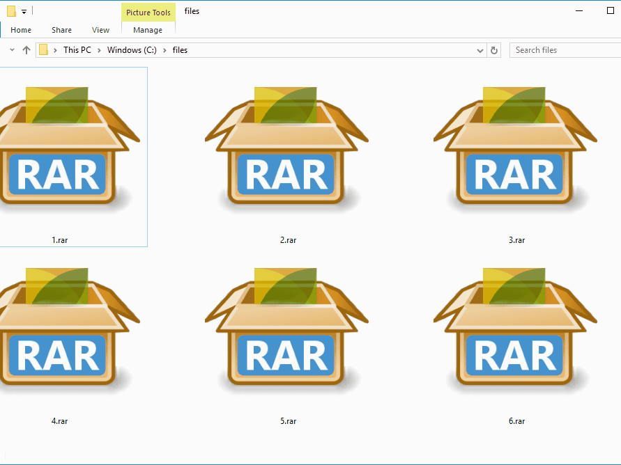 RAR File (What It Is and How to Open One)