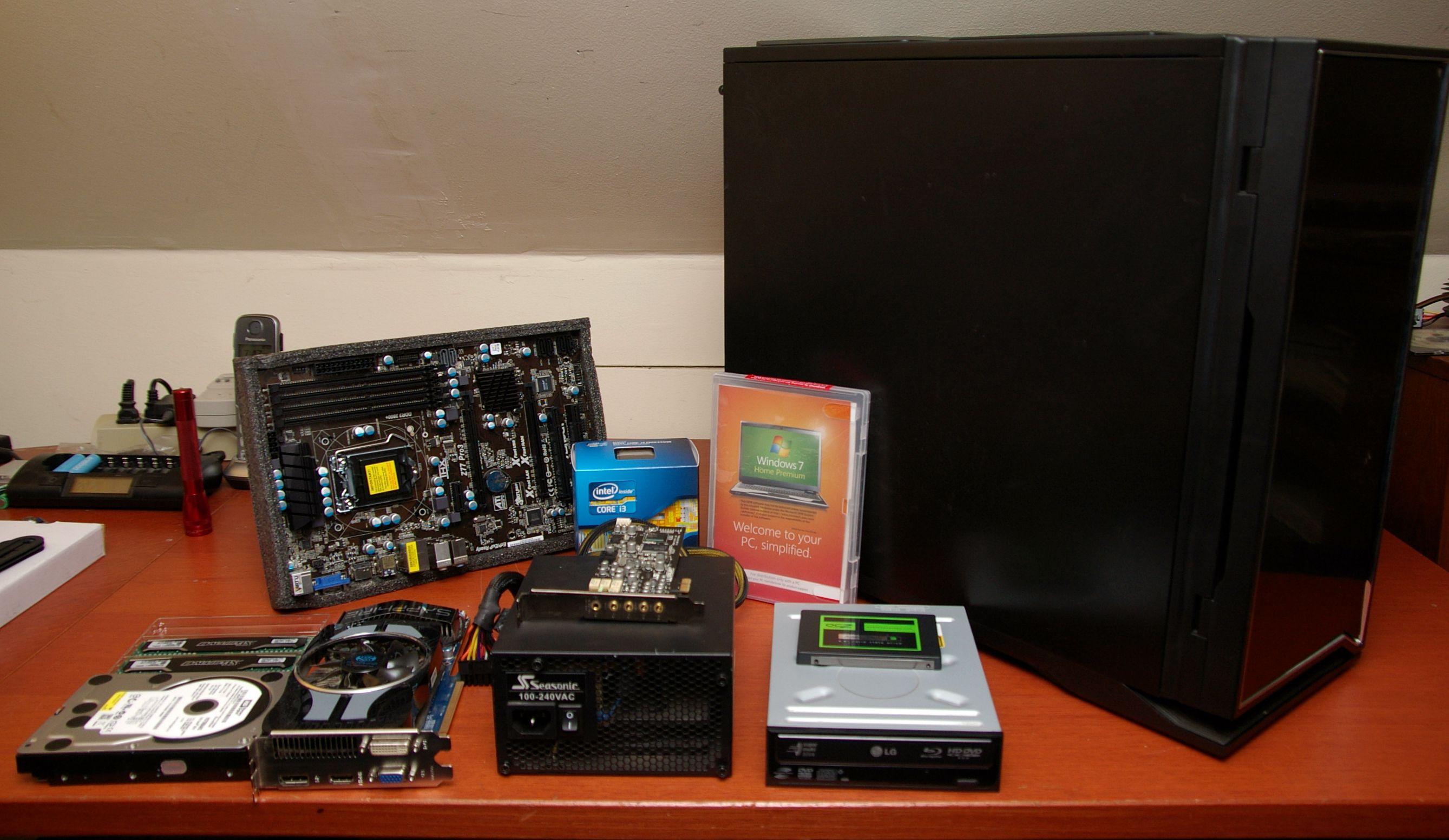 Desktop Pc Component Checklist 1 Set Komputer Gaming