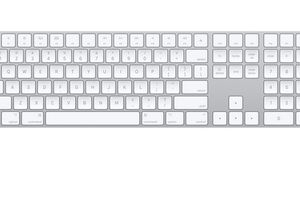 Apple extended keyboard.