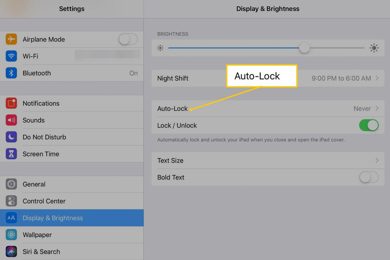 How to Delay Auto Sleep Mode and Passcode Lock on iPad