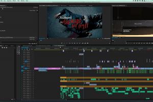 Screenshot of Adobe Premiere
