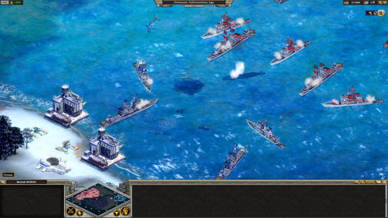 Screenshot from Rise of Nations: Extended Edition