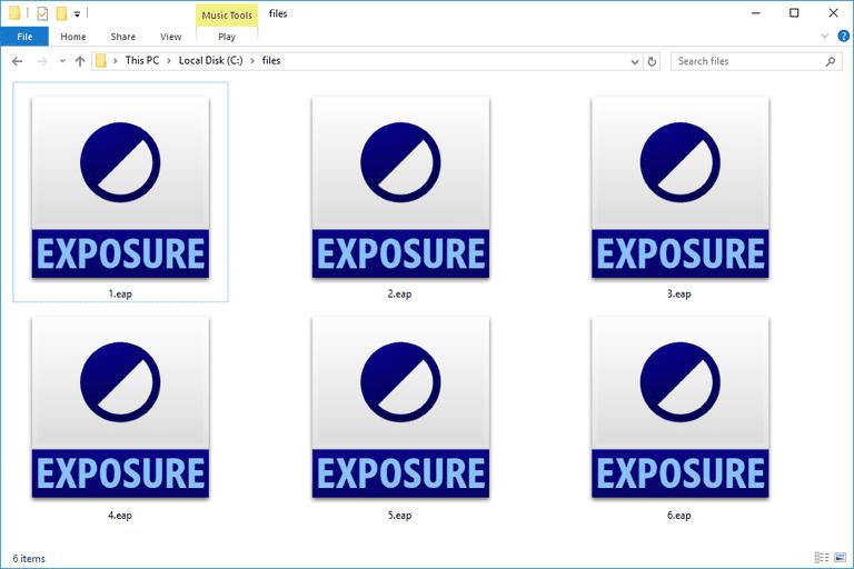 EAP Files