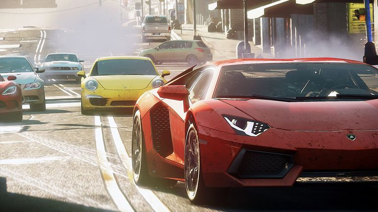Need for Speed Most Wanted Nonstop multiplayer