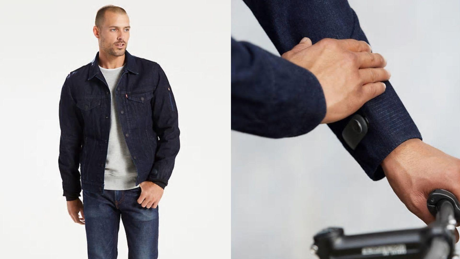 Levi's Commuter x Jacquard by Google smart clothing