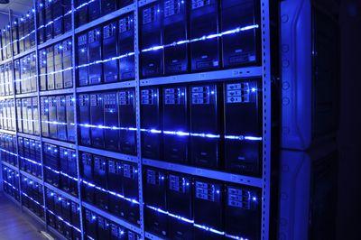 The Server room of BalticServers