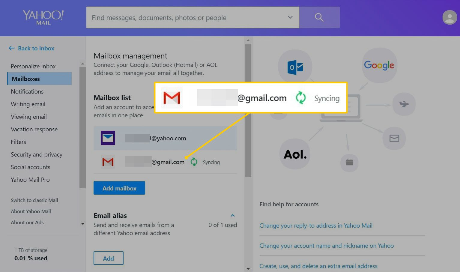 How to Specify a Reply-To Address in Yahoo Mail