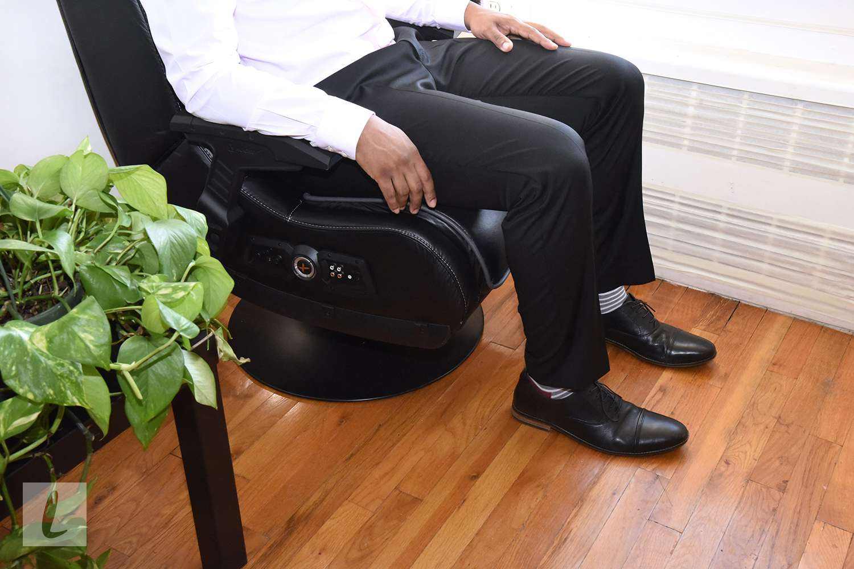 X Rocker 51396 Pro Series Pedestal 2.1 Gaming Chair