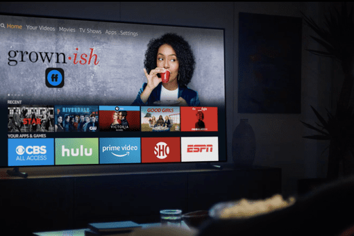 Amazon Fire TV in the home