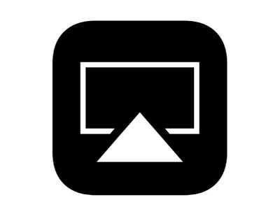 Apple's AirPlay icon