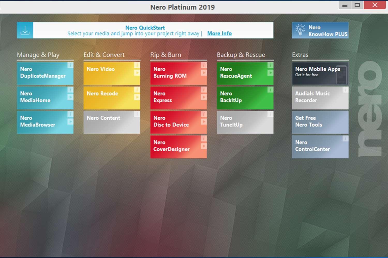 Nero Platinum Video and Multimedia Software