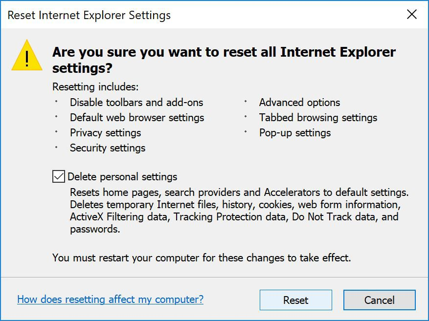 internet explorer has stopped working windows 7 professional