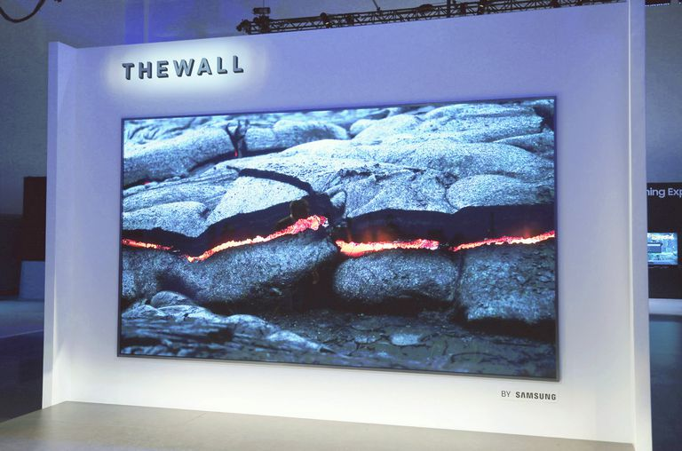 Samsung 146-inch Wall MicroLED Prototype