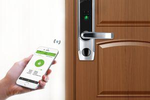 ZKTeco TL400B Fingerprint Biometric Bluetooth Smart Door Lock
