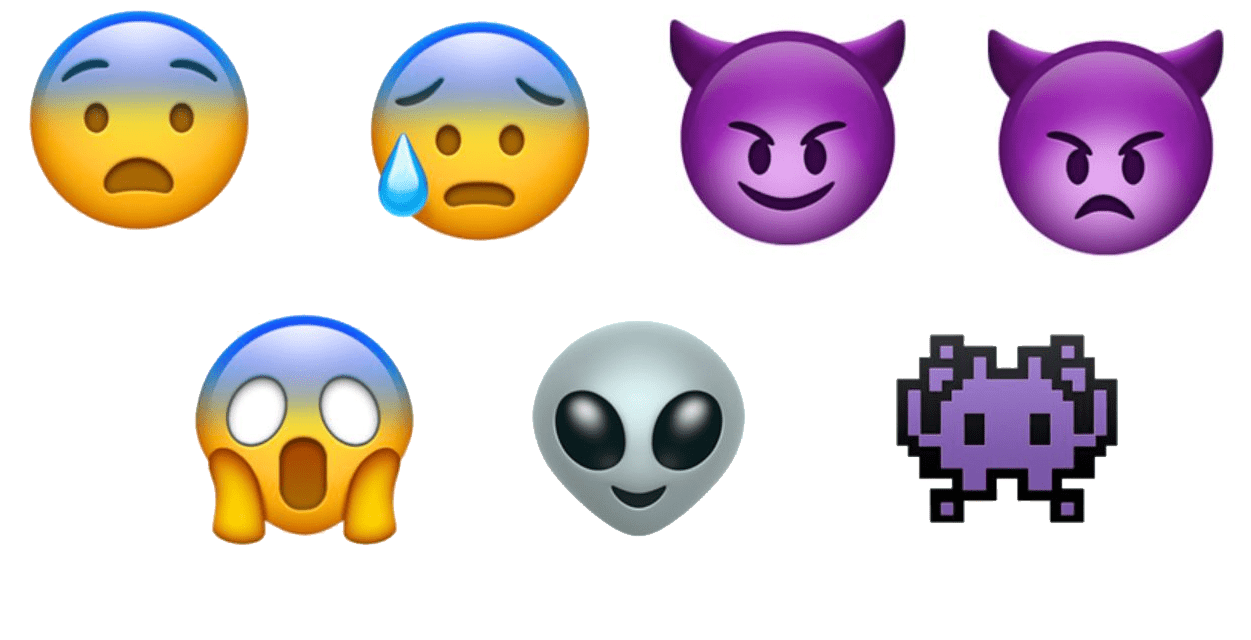 Find out which are the ideal Halloween emojis for each online platform