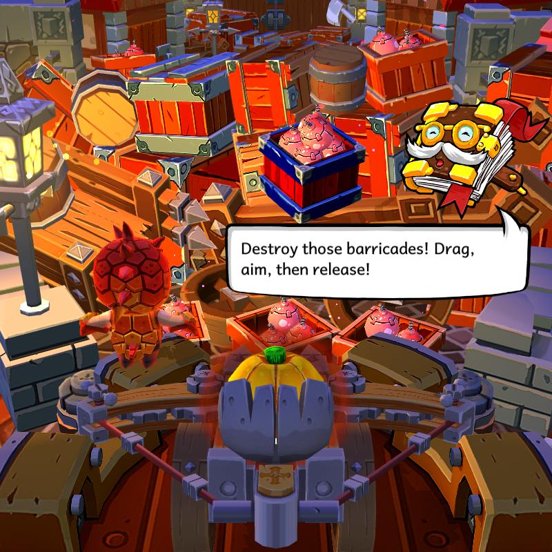 Screenshot from Zombie Rollerz
