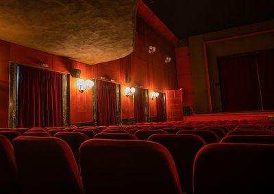 Inside impero cinema, Central region, Asmara, Eritrea...