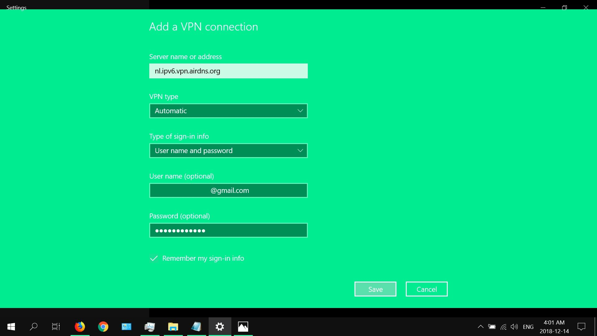 How to Set up a VPN in Windows 10
