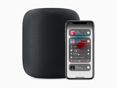 Image of HomePod speaker and AirPlay technology