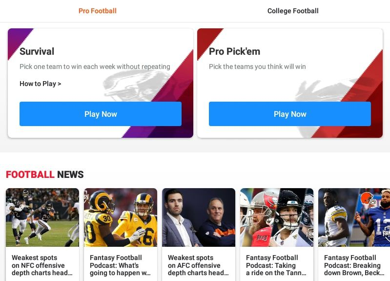 The Top NFL Apps for Android