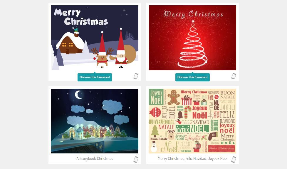 The Best Christmas E-Card Web Sites of 2018