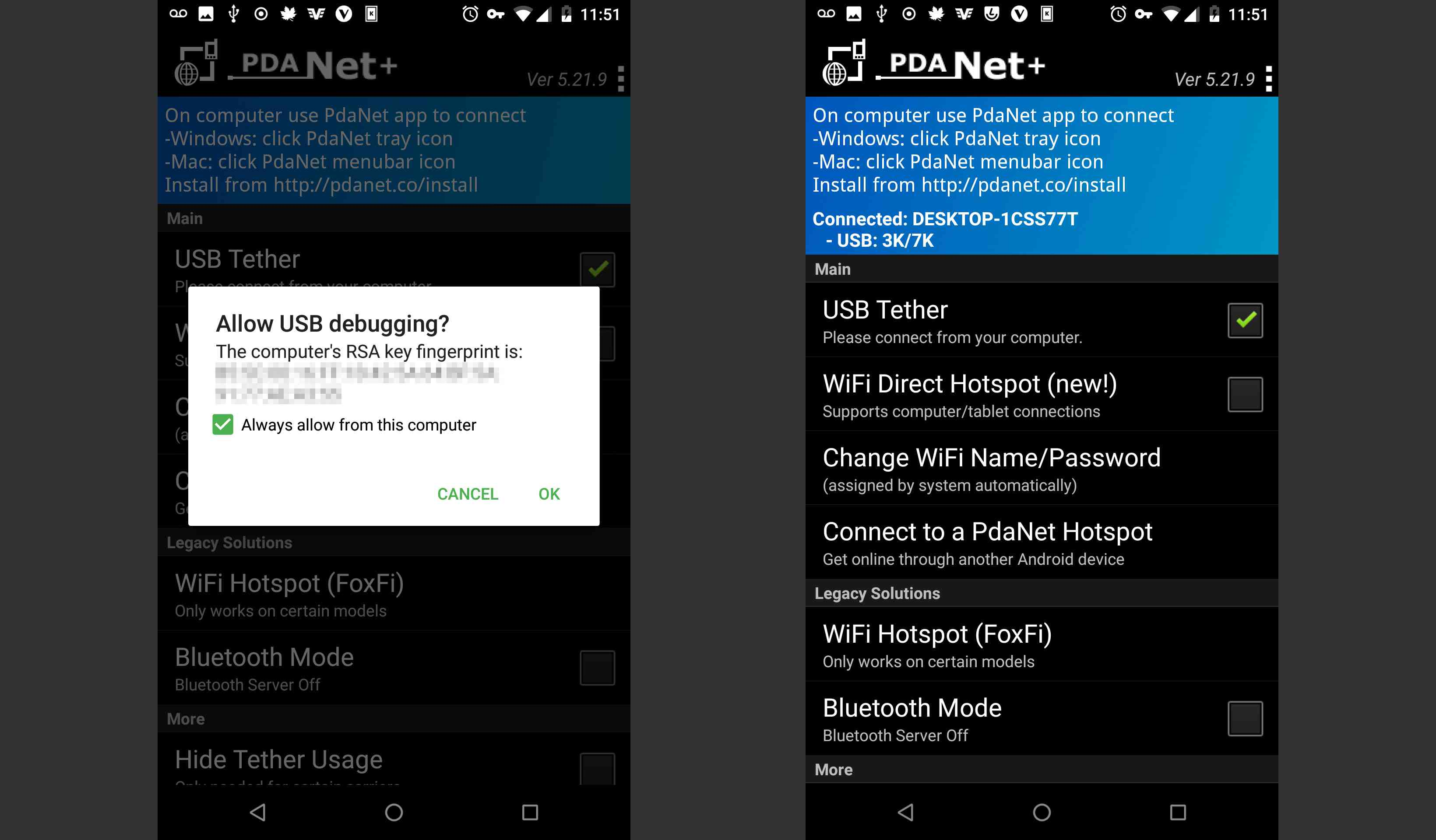 How to Tether Your Smartphone with PdaNet+