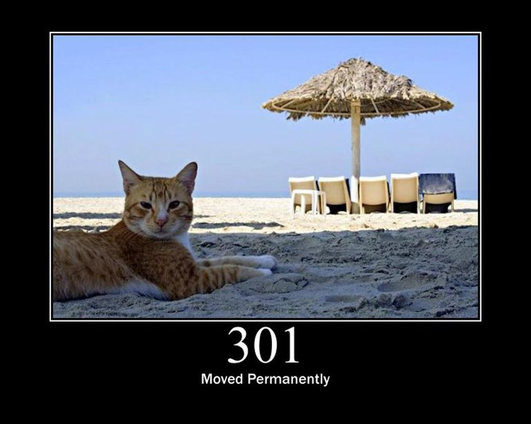 301 - Moved Permanently