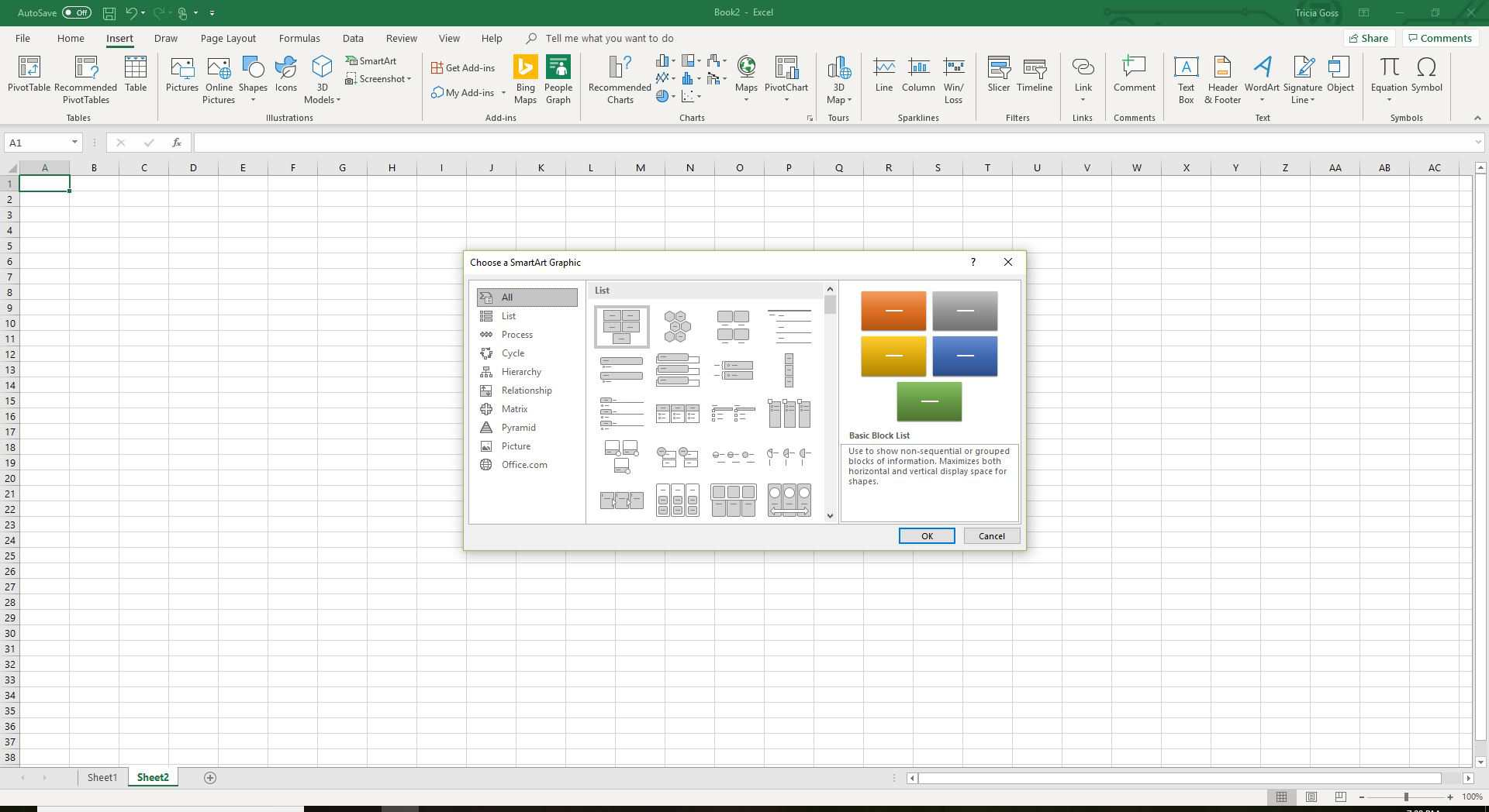 How to Find and Use Excel's Free Flowchart Templates