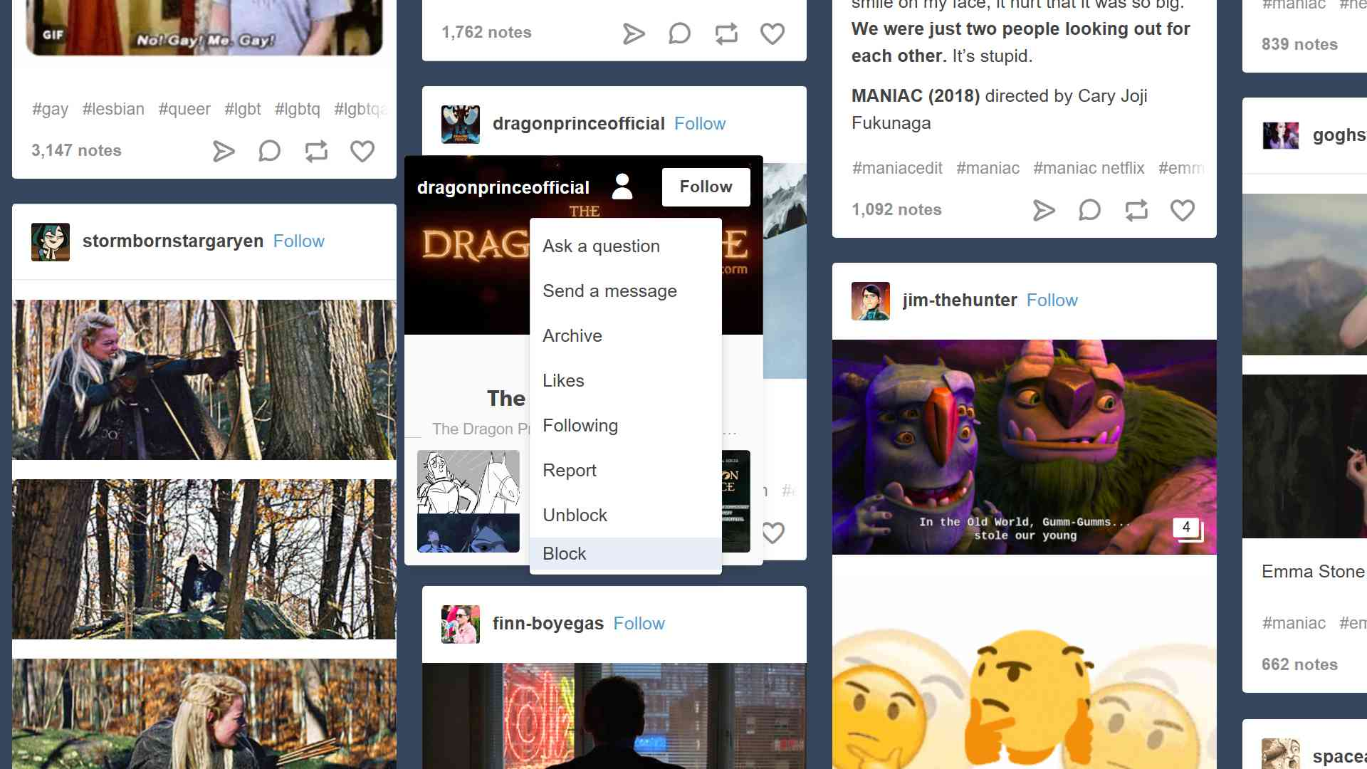 How to Block and Unblock Someone on Tumblr