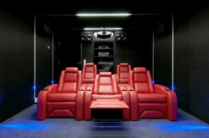 Best Luxury Option Elite Home Theater Seating
