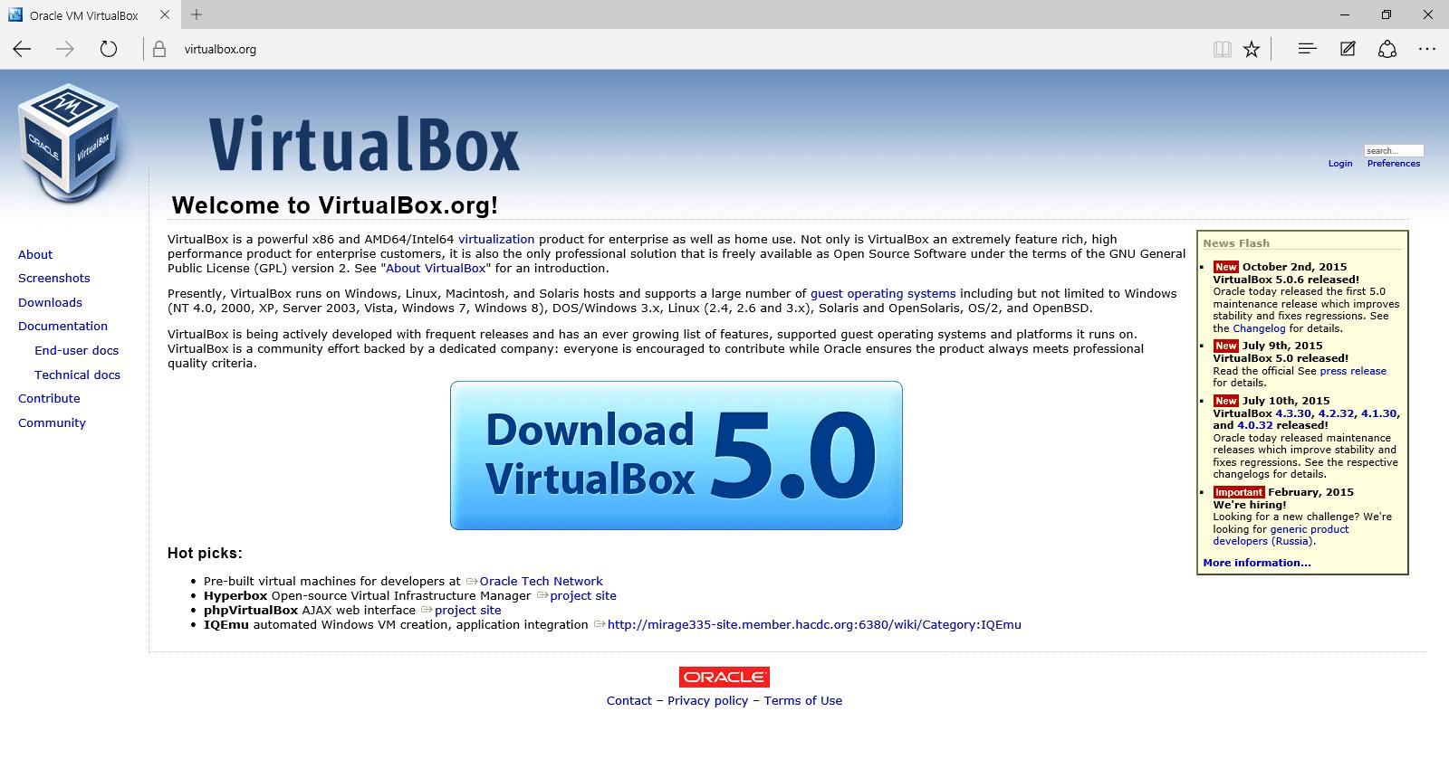 download ubuntu virtualbox for windows 10