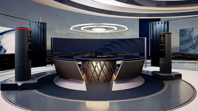 Concept images for The News Pavilion.