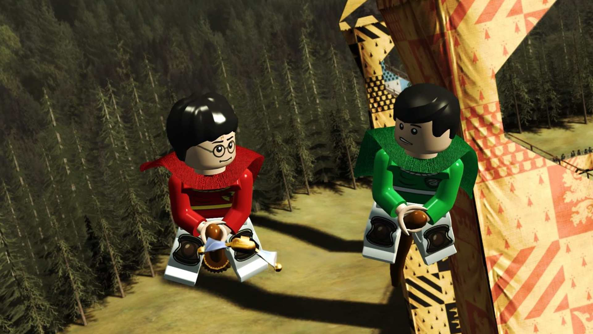 Lego Harry Potter Collection offline video game for kids.