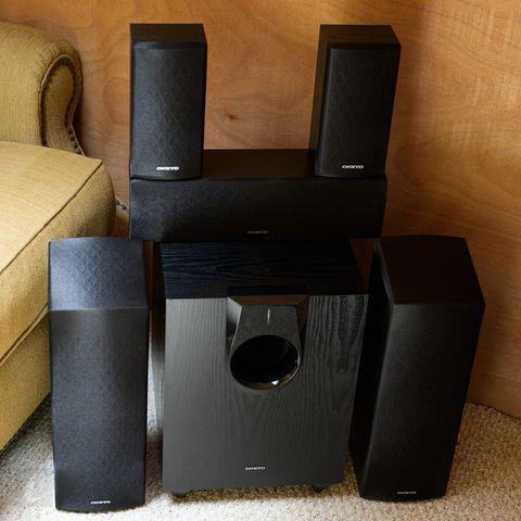 Set sound up surround onkyo Top 10