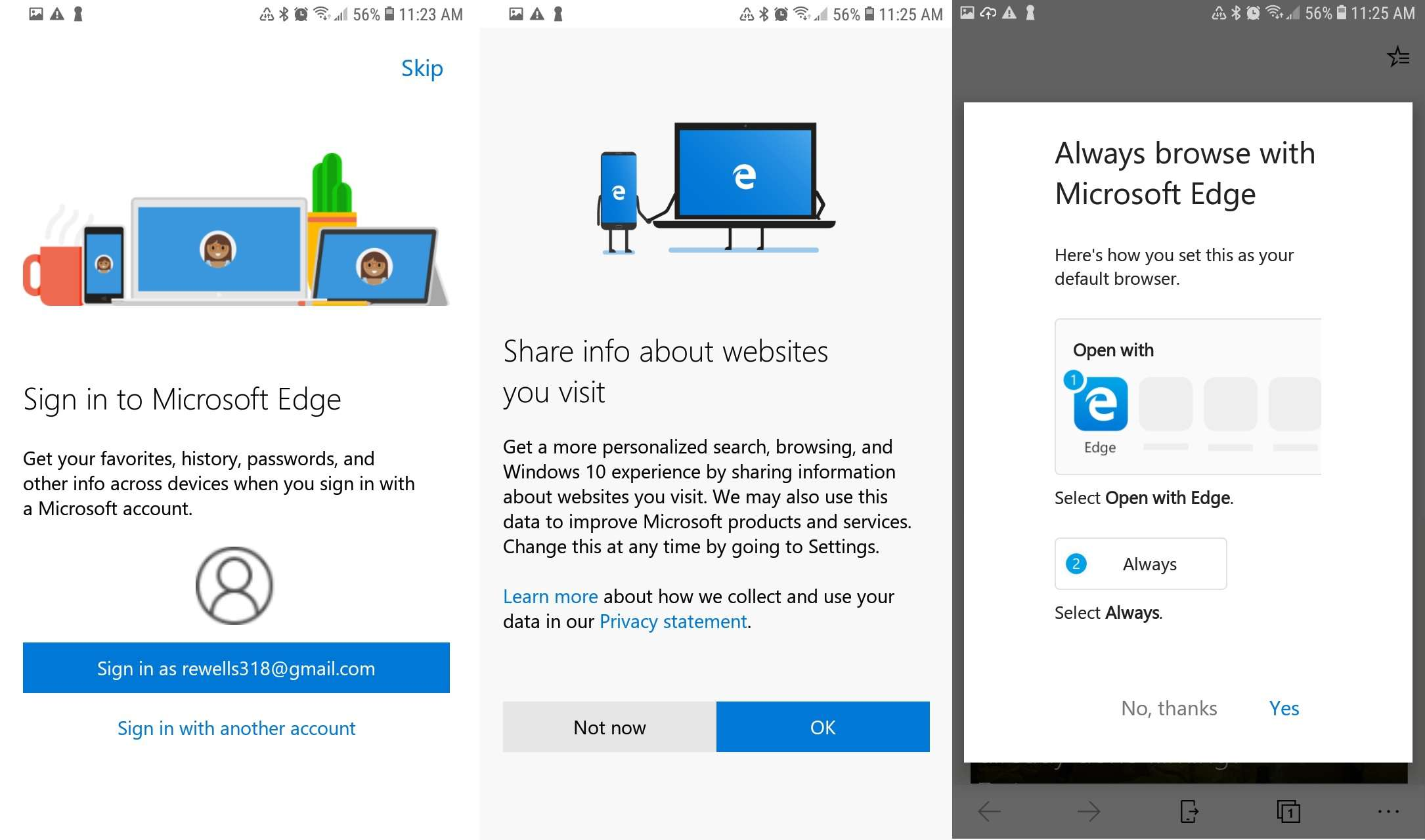 How to Install and Use Microsoft Edge for Android