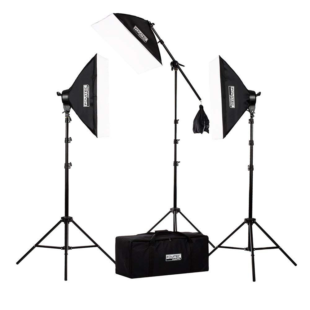 Fovitec StudioPRO Softbox Lighting Kit